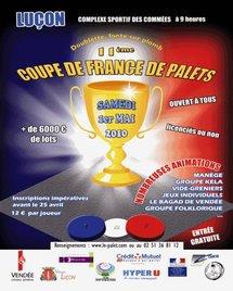 Coupe de France de Palet Fonte le samedi 1°mai à Luçon