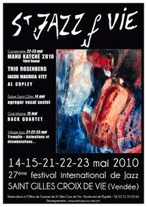 Le grand cru annoncé pour la 27 ème édition du Festival Saint Jazz sur Vie