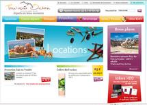 Nouveau site de Tourisme Ocean, agence de voyages et filiale du Crédit Mutuel