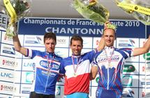 Nicolas Vogondy (BBox Bouygues Telecom), sacré champion de France du contre-la-montre jeudi à Chantonnay
