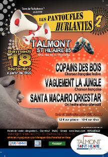 2ème édition des Pantoufles hurlantes à Talmont Saint Hilaire le samedi 18 septembre