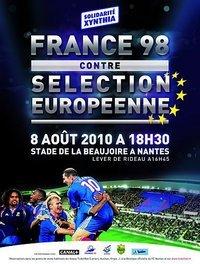 Sinistrés de Xynthia et du Var: match de bienfaisance des champions du monde 98 dimanche à Nantes