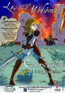 Les 25ème Médiévales de Commequiers les 4 et 5 août