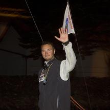 Bertrand Delesne (Prati'Buches), vainqueur de la 2ème étape des Sables - Les Açores - Les Sables   Le Breton Bertrand Delesne (Prati'Buches) en remportant lundi 23 août au matin, aux Sables d'Olonne