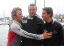 Vincent Kerbouriou (CGG Veritas) et Hugo Lavayssière (Hervé Sail Design) sont en lutte pour la sixième place de l'étape