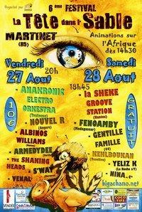 Festival La Tête Dans l'Sable - édition 2010: les Bigachamos n'ont pas fini de vous surprendre !!
