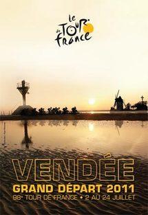 Après 1976, 1993, 1999 et 2005, le Tour de France s'installera à nouveau en Vendée en 2011.