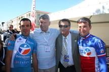 Phillipe de Villiers lors du 39 Tour cycliste de Vendée le dimanche 26 septembre 2010