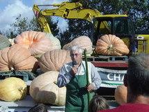 Concours National du plus gros Potiron 2010 au Potager Extraordinaire à la Mothe-Achard le dimanche 3 octobre