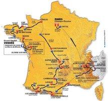La prochaine édition de la Grande Boucle débutera en Vendée.