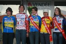 Ce dimanche 14 Novembre c 'est déroulé au Chateau d 'Olonne le Championnat départemental de Cyclocross