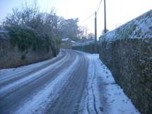 Talmont-Saint-Hilaire sous la neige