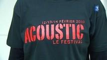 La deuxième édition du festival Acoustic se déroulera à la salle de l'Idonnière du Poiré-sur-vie les 18, 19 et 20 février 2011.