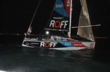 Solo Figaro Massif Marine 2011: pointage à la bouée SNS en baie des Sables vendredi 18 mars à 20h37