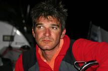 """Frédéric Rivet, à bord de son Figaro """"Vendée 1""""  défendra les couleurs de la Vendée lors de la Transat Bénodet Martinique"""