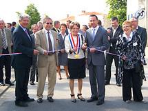 Jean-Jacques BROT, Préfet de la Vendée a inauguré les aménagements de la rue de la forêt à THORIGNY