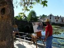 """16ème festival """"peindre dans les rues"""" du canton de Rocheservière samedi 11 Juin 2011 et dimanche 12 Juin"""