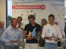 La remise des prix de la 1° étape en Espagne Transgascogne 2009