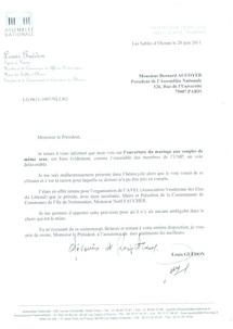 """""""Mariage"""" homosexuel : le député Guédon voulait voter contre"""
