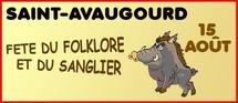 38° fête du Folklore et du Sanglier à Saint-Avaugourd-des-Landes le lundi 15 août