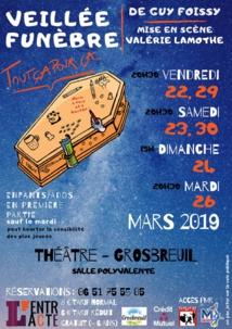 Grosbreuil: théâtre avec la troupe