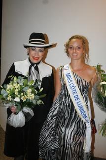 Camille élue Miss Côte de Lumière 2011