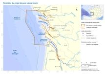 Le 4ème comité de concertation du projet de parc naturel marin de l'estuaire de la Gironde et les Pertuis charentais s'est réuni à Rochefort