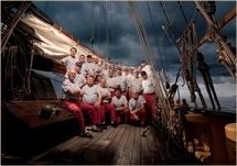 Les Marins d'Iroise le 25 septembre aux Atlantes des Sables d'Olonne.