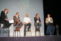 La soirée de présentation de la 40 ème édition du Tour de Vendée s'est déroulée ce lundi 19 septembre 2011 à l'IST de la Roche Sur Yon