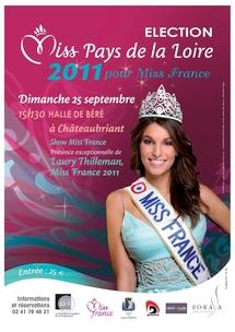 L'élection de Miss Pays de la Loire dimanche 25 septembre