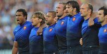 Coupe du Monde de Rugby:  France - Nouvelle-Zélande en finale. Les All Blacks ont battu les Australiens 20 à 6