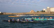 Les pirogues polynésiennes à l'honneur les 18 et 19 mai 2012 au départ des Sables d'Olonne