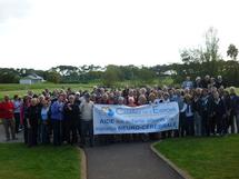 Le golf club de Bourgenay, soutien du Camino de l'Espoir