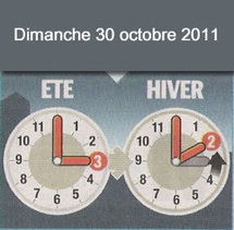Attention, on change d'heure ce week-end !
