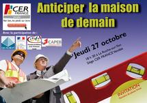 Rencontre CER FRANCE : 80 artisans du bâtiment présent pour anticiper la maison de demain
