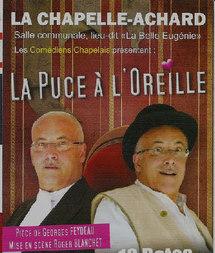 """Les Comédiens Chapelais présentent """"La Puce à l'Oreille"""" une pièce de georges Feydeau"""