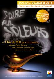 La traditionnelle Foire aux voleurs se déroulera dans le centre-ville des Sables le samedi 3 décembre .