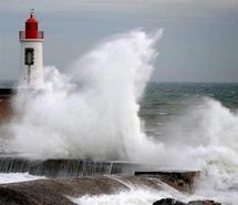 La nuit de jeudi à vendredi promet d'être agitée dans l'Ouest de la France, où une tempête est annoncée.