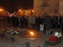 Cérémonie d'hommage pour le 60ème anniversaire de la mort du maréchal vendéen Jean de Lattre de Tassigny