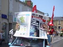 Une exposition sur le Tour de France à Olonne sur Mer,