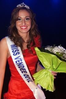 Caroline Gréau a été élue Miss Vendée 2012