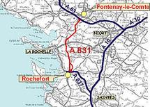 A 831: la voie est loin d'être dégagée !
