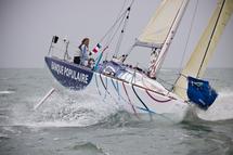 Solo Figaro massif marine 2012 aux Sables d'Olonne du mardi 13 au samedi 17 mars
