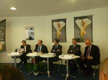 Antoine Chéreau et Bruno Retailleau ont présenté l'édition 2012 du Printemps du livre