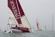 La Solo Figaro Massif Marine 2012:  Silence, Moteur, Cà tourne… Action !