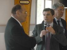 Benoist Apparu, ministre chargé du Logement, était en visite en Vendée, vendredi 16 mars