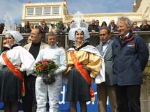 Les courses de chevaux ont fait  leur retour sur la plage des Sables d'Olonne