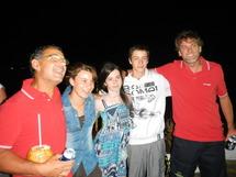 Jacques Fournier et Jean-Christophe Caso sont arrivés en 10e position de la Solidaire du Chocolat, en début de nuit à Progreso