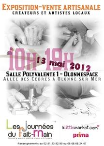 Exposition vente artisanale à Olonne-sur-Mer