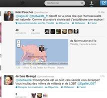 Les Jeunes Socialistes de Vendée sont scandalisés par les propos homophobes de Noël Faucher sur Twitter !